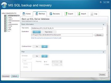 How To Backup a Sql Server