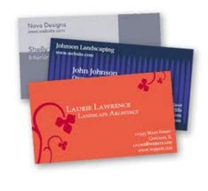How To Design Your Own Business Cards Online