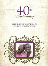 What To Do For a 40Th Anniversary