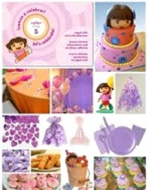 Unique Themes For Dora Birthday Parties