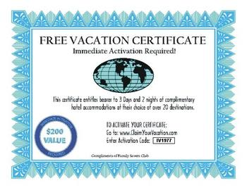 How To Give Away Free Vacations Business Incentives