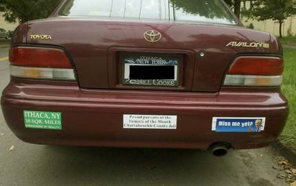 How To Place Bumper Stickers on Your Car