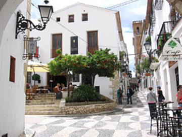 Quiet And Tranquil Village Vacations In Altea - Spain