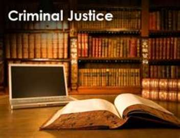 Criminal Justice Degree Online Information