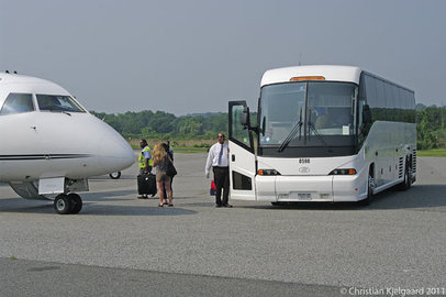 Getting From Bus To Plane