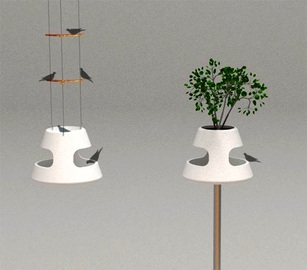 Bird And Birdfeeder Designs