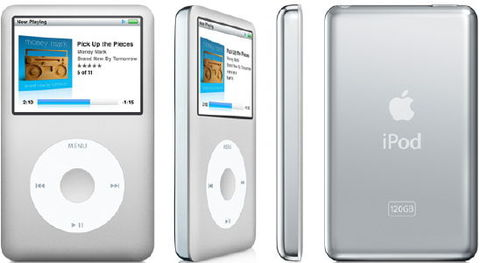 About An Ipod Classic Media Player