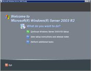 How To Install Windows Server 2003