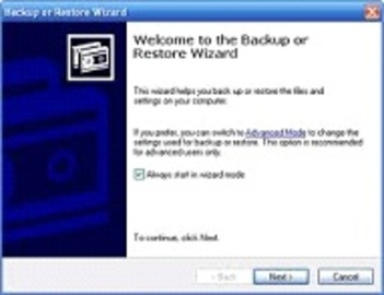 About Windows Backup