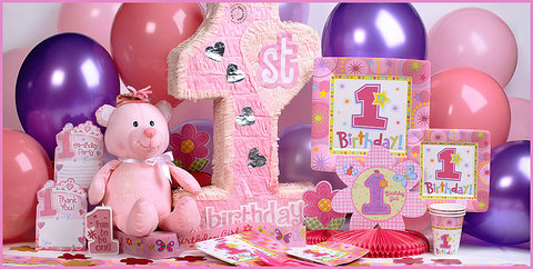 Party Invitations For  Girl  Birthday Parties