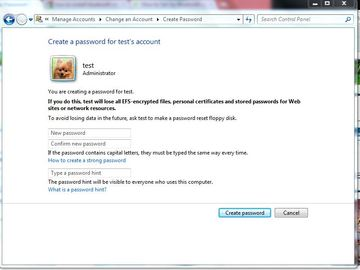 How To Set Up Password For Windows