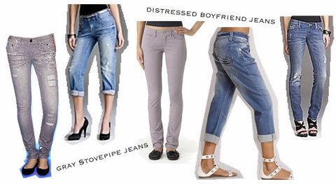 Top 7 Styles Of Jeans Apparel