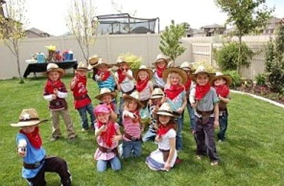 Themes For Western Birthday Parties