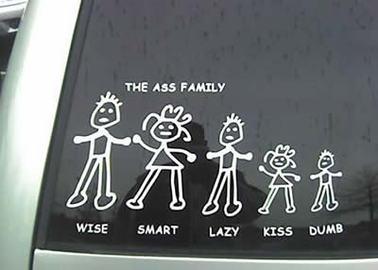 Funny Car Bumper Stickers